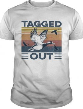 Bird tagged out vintage shirt