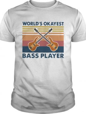 Guitars Worlds Okayest Ball Player Vintage shirt
