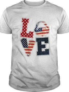 Love scuba diving American flag veteran Independence Day shirt
