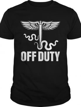 Snake Off duty nurse shirt