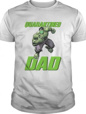 The hulk mask quarantined dad shirt
