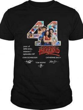 44 Year Of The Dukes Of Hazzard shirt