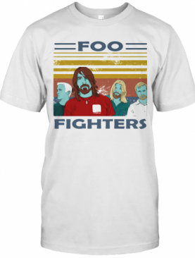 Foo Fighters Vintage Retro T-Shirt