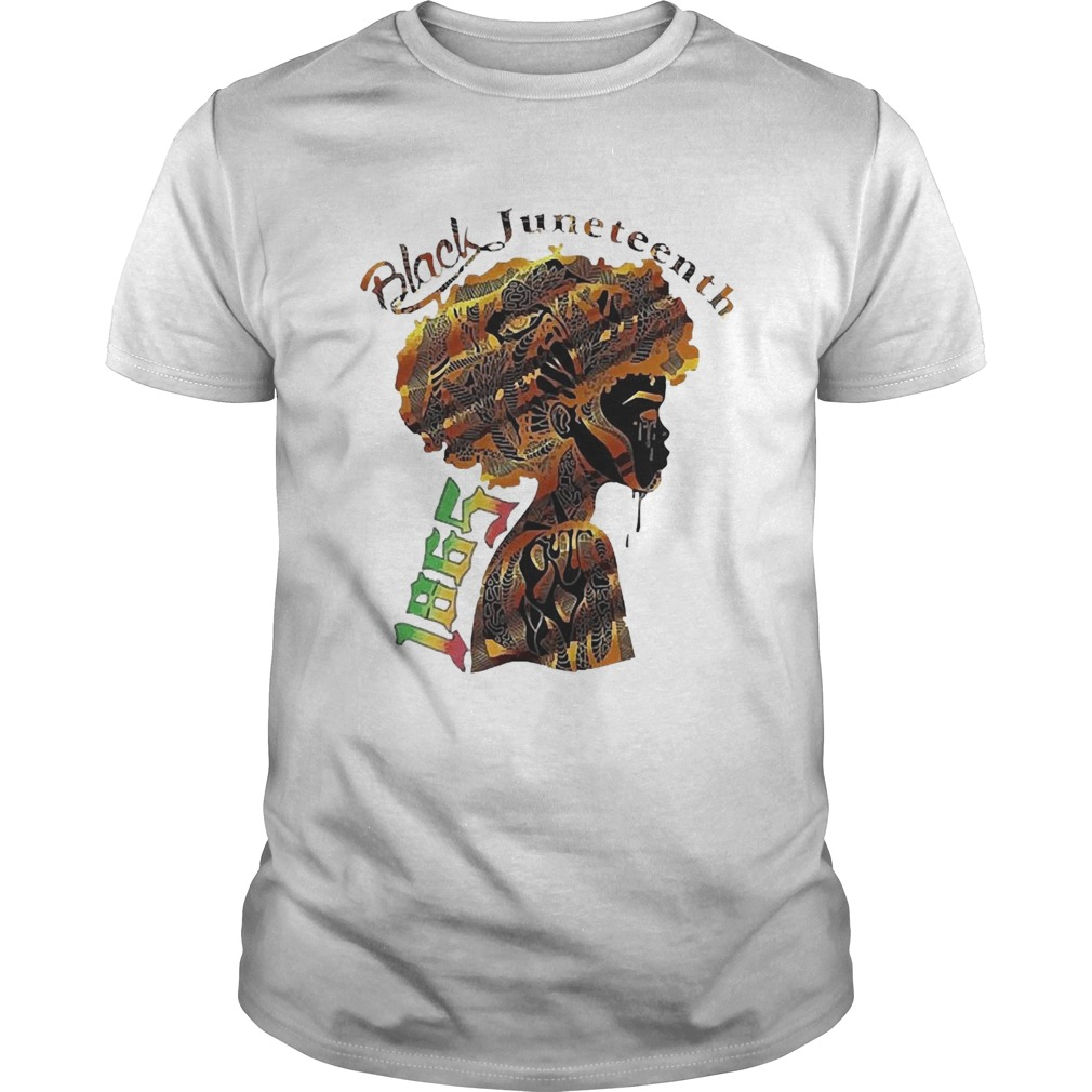 Girl Black Juneteenth Since 1865  Unisex