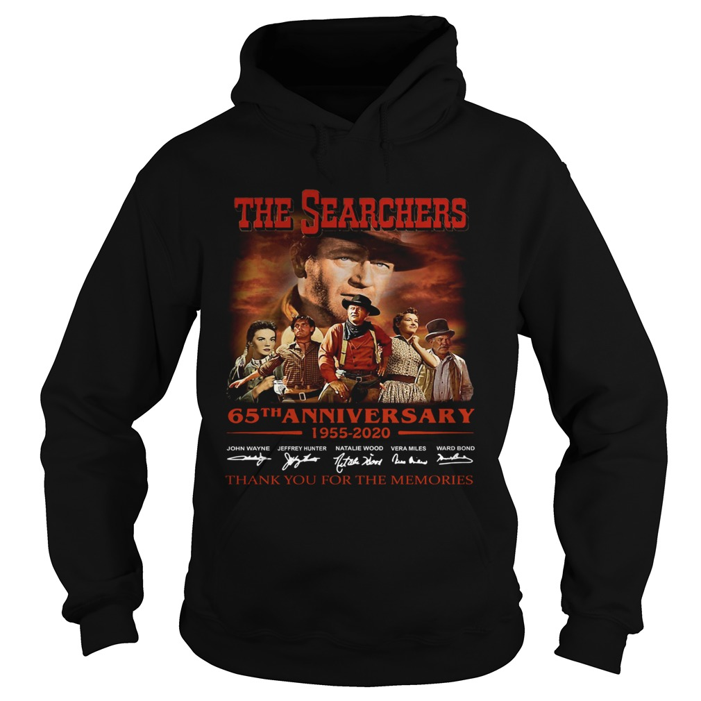 The Searchers 65th Anniversary 1955 2020 Signature Thank You For The Memories  Hoodie