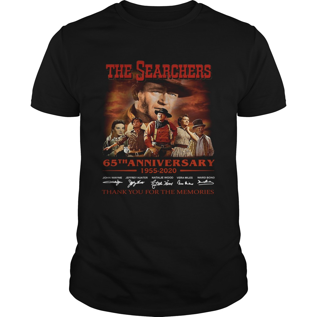 The Searchers 65th Anniversary 1955 2020 Signature Thank You For The Memories  Unisex
