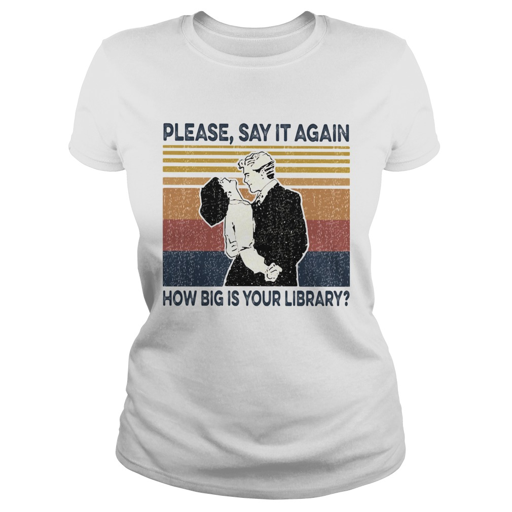 Please say it again how big is your library vintage retro  Classic Ladies