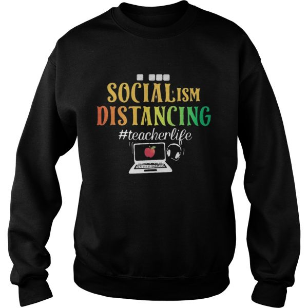Social ISM Distancing Teacherlife Apple Laptop  Sweatshirt