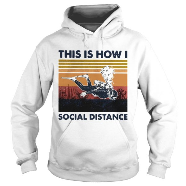 This Is How I Social Distance  Hoodie