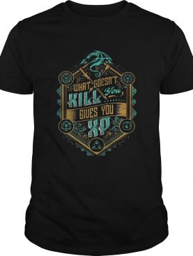 What doesnt kill you gives you xp satan shirt