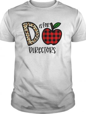 Apple D Leopard Is For Teacher Directors shirt