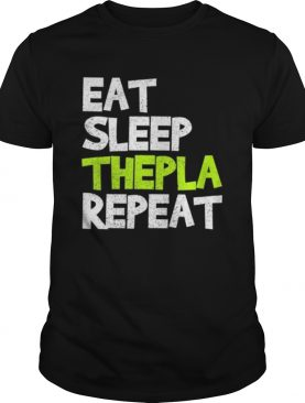 Eat Sleep Thepla Repeat Desi Hindu Gujarati shirt