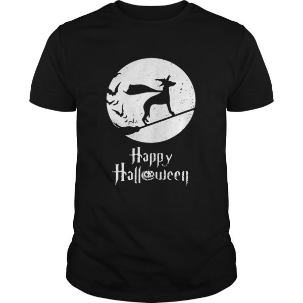Halloween Witch Whippet Dog Lover  Unisex
