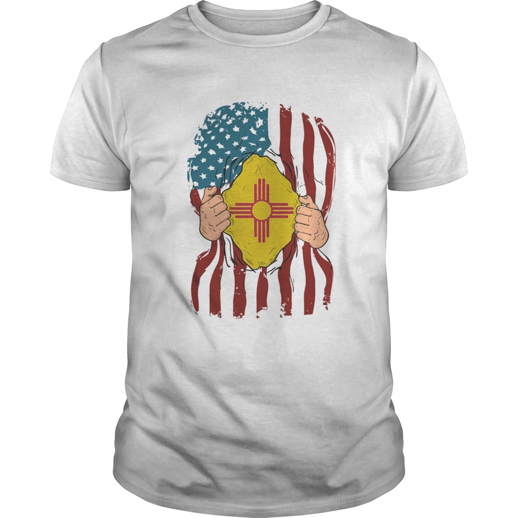 New Mexico Flag Inside Me Home State Pride American Unisex