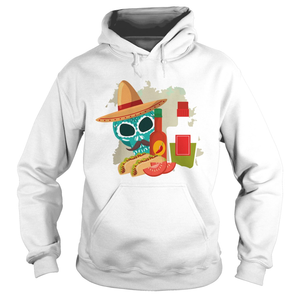 Skull Sandwiches Day Of The Dead Hoodie
