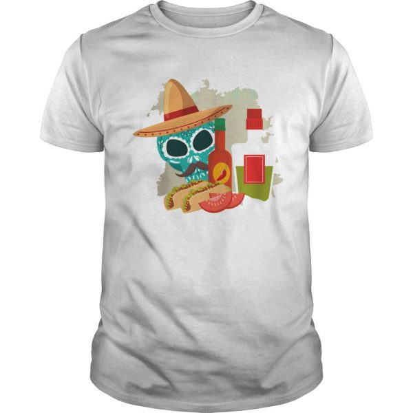 Skull Sandwiches Day Of The Dead  Unisex