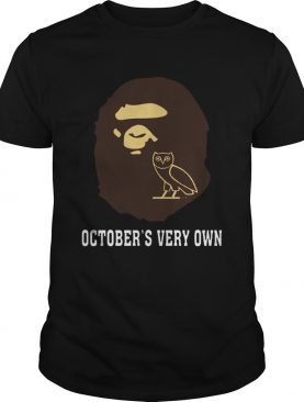 BAPE x OVO Octobers Very Own shirt