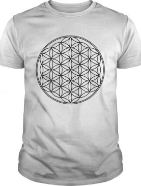 Flower of life Sacred Geometrie Yoga Health Protection shirt