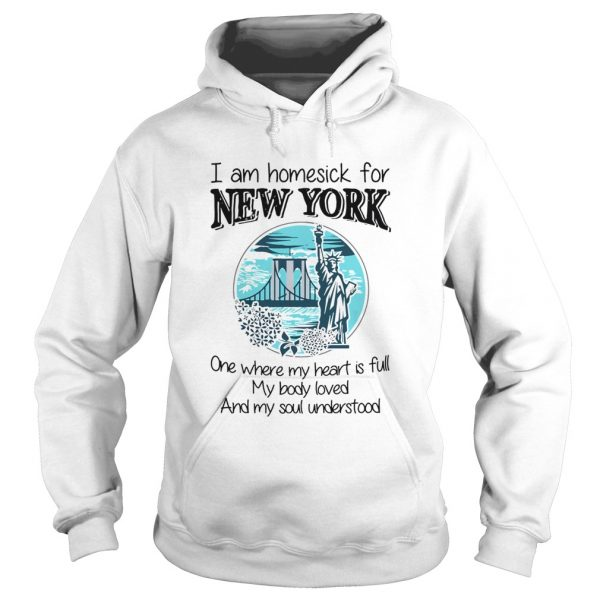 I Am Homesick For New York  Hoodie