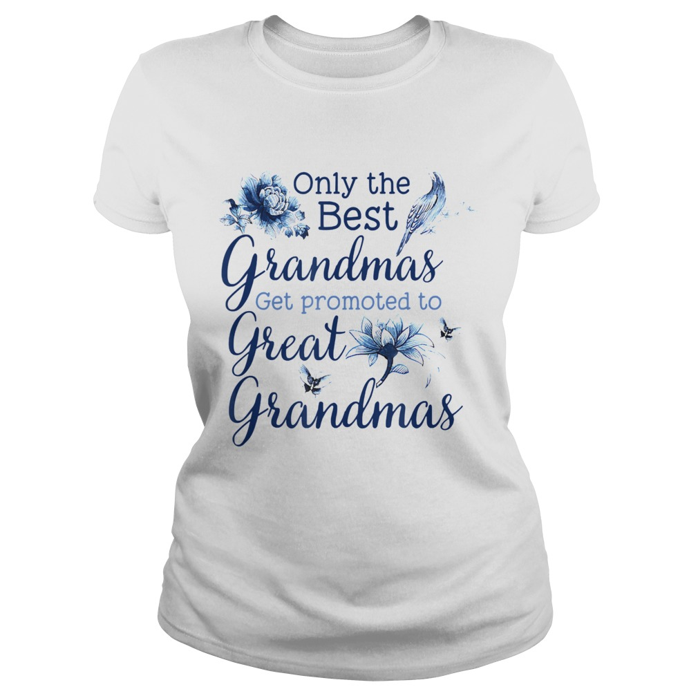 Only The Best Grandmas Get Promoted To Great Grandmas Classic Ladies