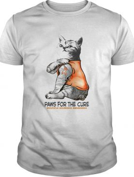 Paws For The Cure Multiple Sclerosis Awareness shirt