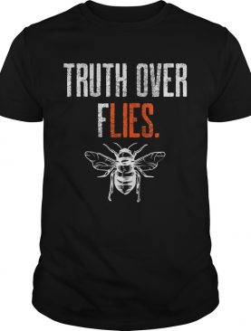Truth Over Flies Debate Fly On Mike Pences Head Funny Vote shirt
