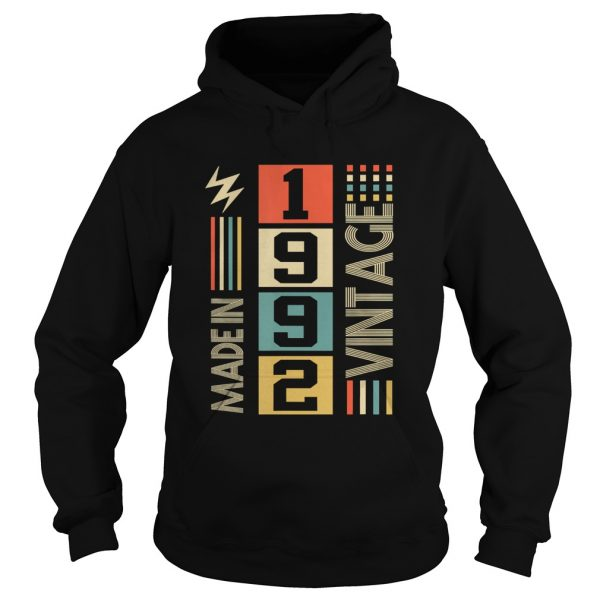 Vintage Legends Born Made In 1992 28th  Hoodie