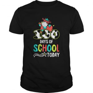 100 Days Of School Today Cow Print Face Mask Quarantine  Unisex