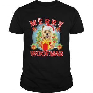 Cairn Terrier Merry Woofmas Christmas  Unisex