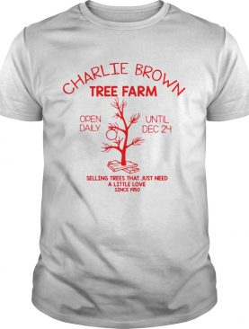 Charlie Brown Tree Farm Open Daily Until Dec 24 Selling Trees That Just Need A Little Love Since 19