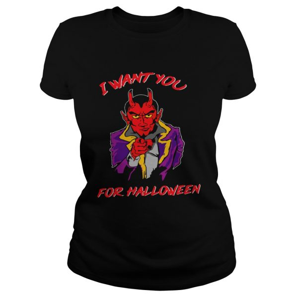 I Want You For Halloween  Classic Ladies