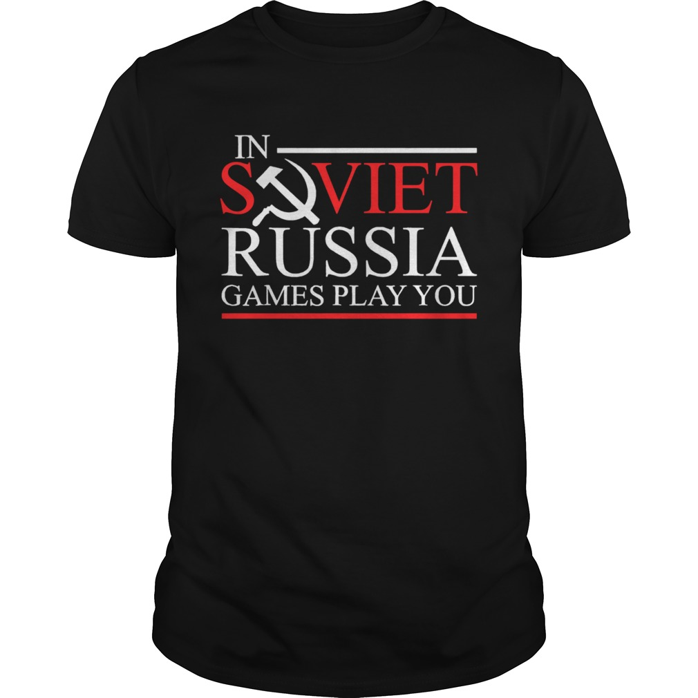 In Soviet Russia Games Play You Tabletop RPG Unisex
