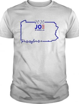 Joe Biden and Kamala Harris win Pennsylvania 2020 shirt