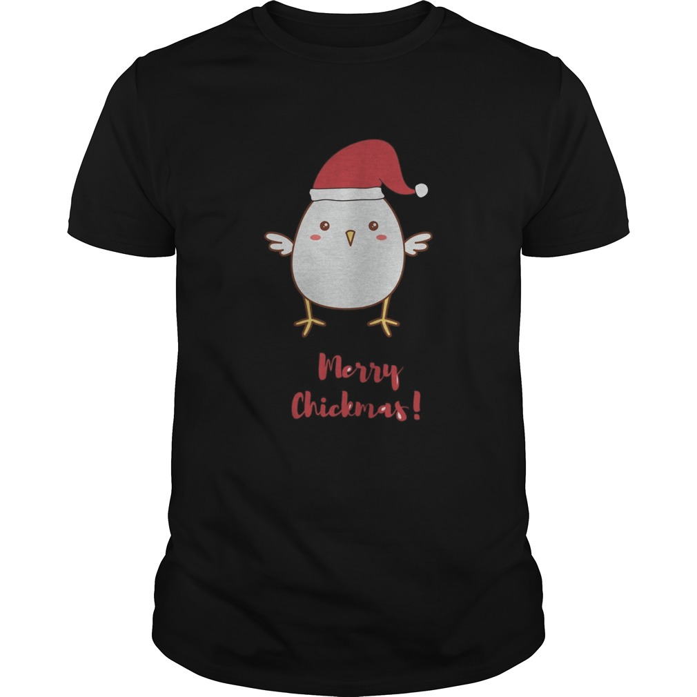 Merry Chickmas Chicken Hat Santa Clause Unisex