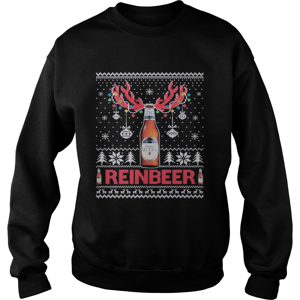 Premium michelob ultra ugly christmas Sweatshirt