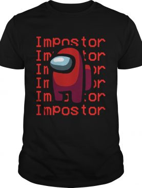 Red Among Us Importer shirt