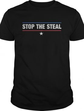 Stop the steal trumpbiden election results 2020 political shirt