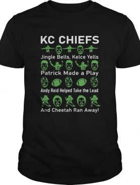 Kc Chiefs Jingle Bells Kelce Yells Patrick Made A Play shirt