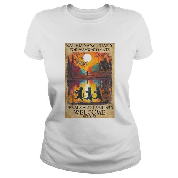 Salem Sanctuary For Wayward Cats Ferals And Familiars Welcome Est 1692  Classic Ladies