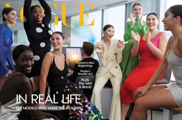 Vogue shot its September cover at the office